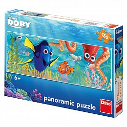DORY NA CESTÁCH 150 panoramic Puzzle