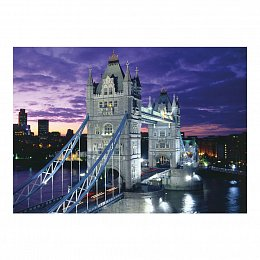 TOWER BRIDGE 1000 neon Puzzle
