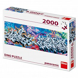 GRAFITTI 2000 panoramic Puzzle NOVÉ