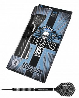 Šipky Harrows Nemesis 85% soft - K