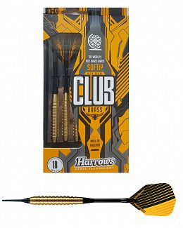 Šipky Harrows Club Brass soft - R